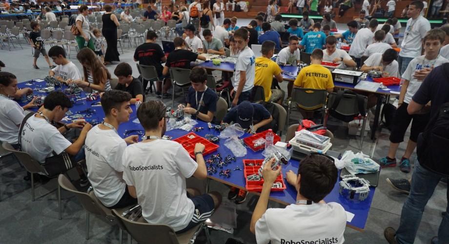 Συμμετοχή της ρομποτικής Υδρόγειος στο διαγωνισμό WRO στην Αθήνα