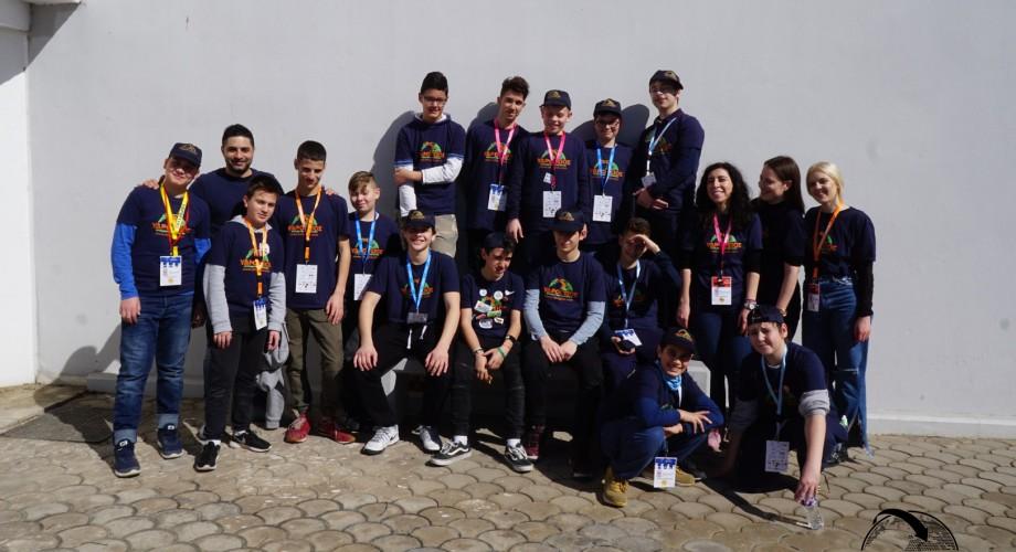 Συμμετοχή των αγωνιστικών ομάδων μας στον τελικό First Lego League 2018