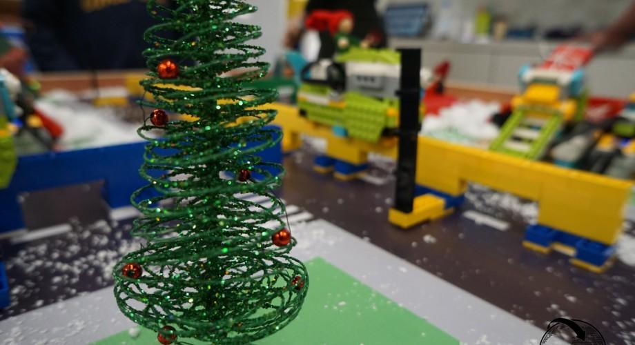 Χριστούγεννα ρομποτικής με τους μικρούς μας μαθητές!